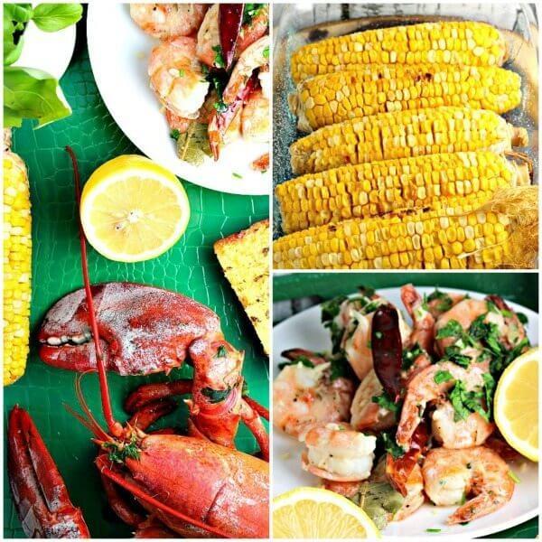 Lobster and Shrimp Dinner