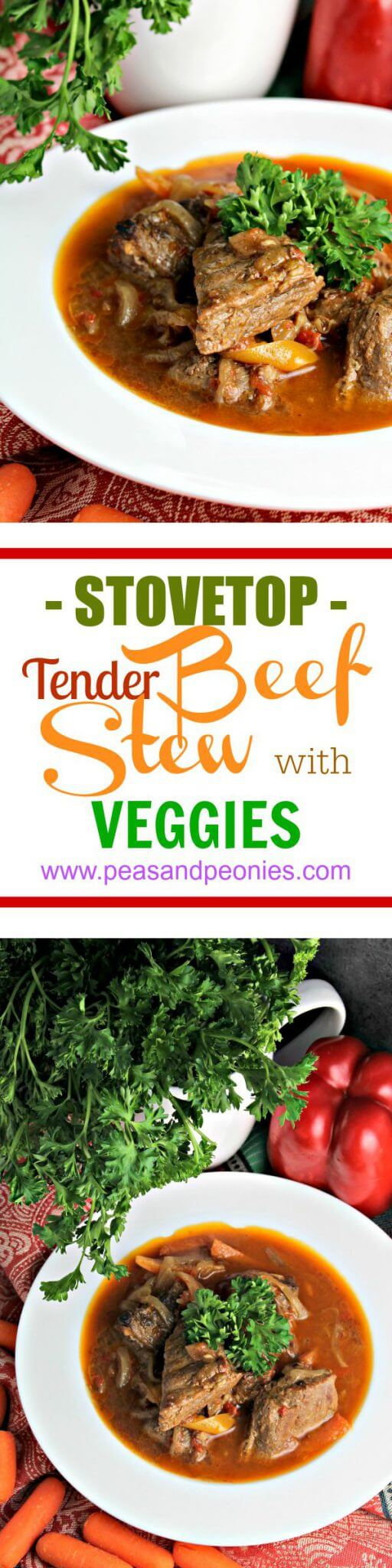 Quick and Easy Stovetop Beef Stew
