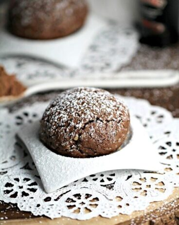 Chocolate Cherry Baileys Cookies