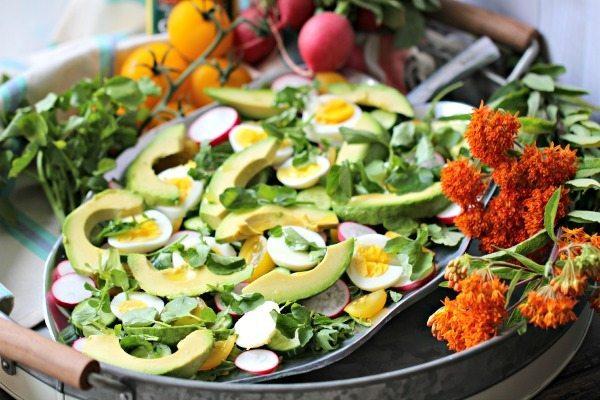 Avocado Radish Detox Salad