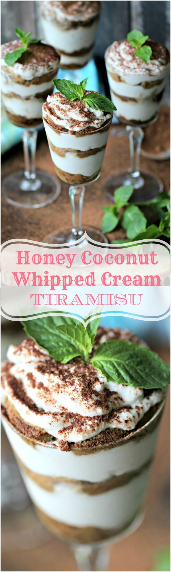 whipped coconut cream tiramisu