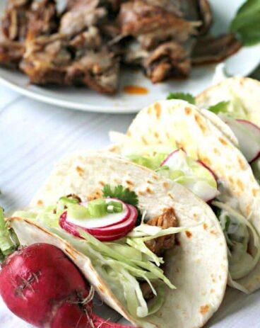 Slow Cookerr Ribs Tacos