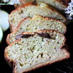 ZUCCHINI BANANA BREAD WITH YOGURT