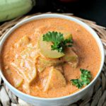 Summer Fresh Creamy Grey Zucchini Tomato Soup
