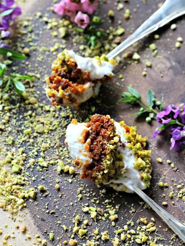 Vegan Carrot Halwa gajar ka Triffle