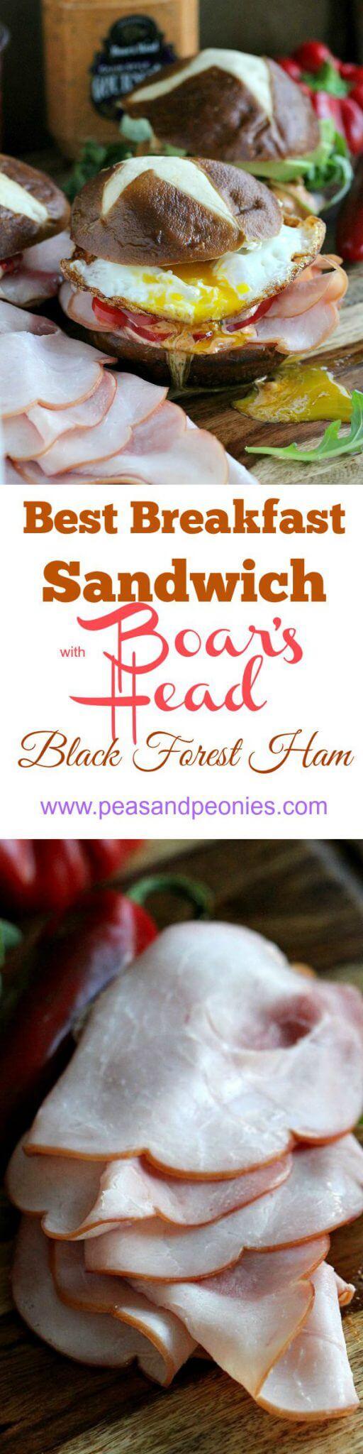 Boar's Head black forest ham