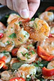 Butter Garlic Pepper Shrimp
