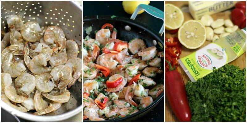 butter garlic pepper shrimp