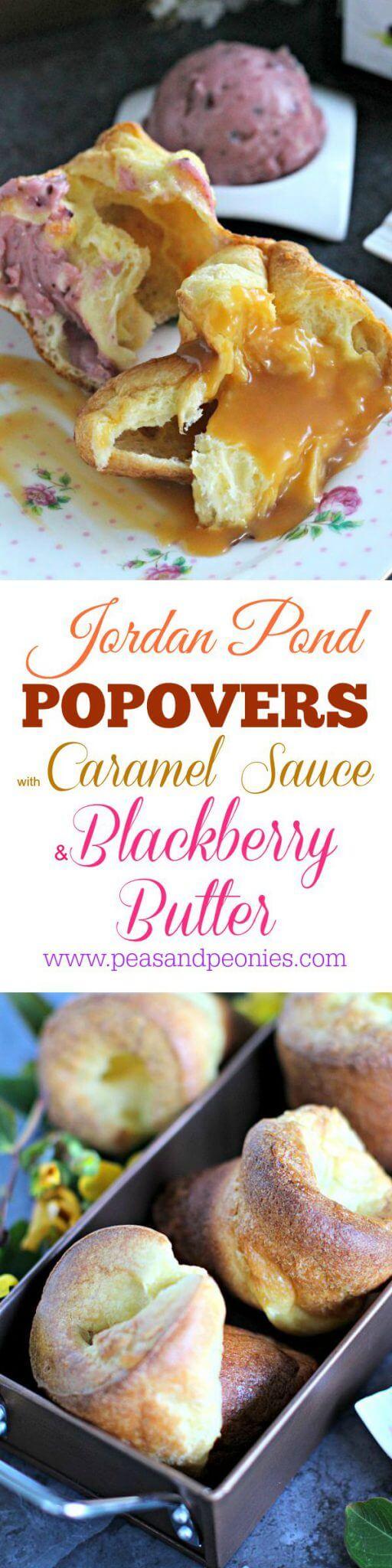 JORDAN POND POPOVERS RECIPE PIN