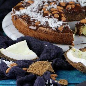 Almond Joy Gluten Free Cake