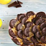 Chocolate Dipped Candied Lemon