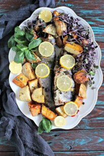 oven roasted whole branzino recipe