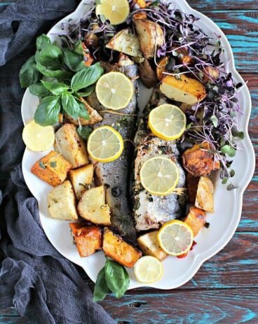 Oven Roasted Whole Branzino