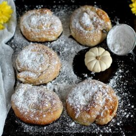 Vegan Butternut Squash Stuffed Pinwheels