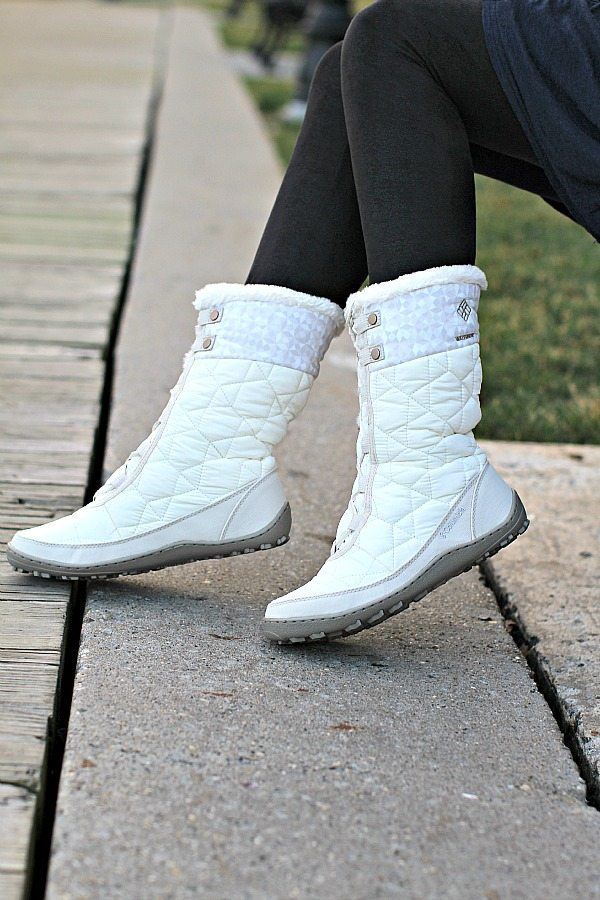 Columbia Ivory Waterproof Snow Boots for a Stylish Winter