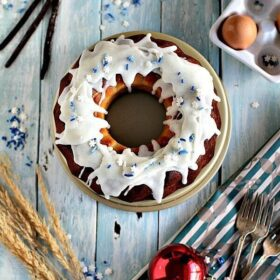 Vanilla French Custard Bundt Cake