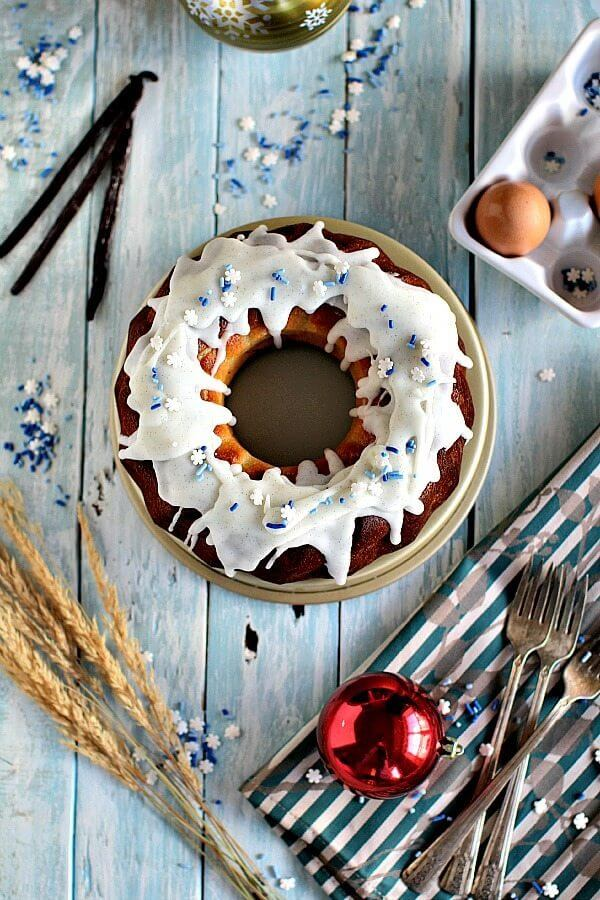 French Vanilla Bundt Cake Recipe