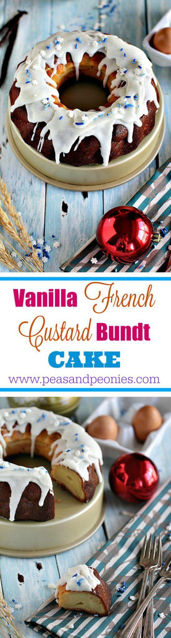 Vanilla French Custard Bundt Cake