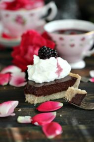 Sugar Free Chocolate Ganache Tart