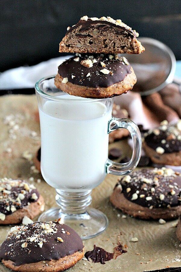 Chocolate Chip Mascarpone Cookies with Ricotta and Almonds