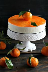 Clementine Mousse Cake