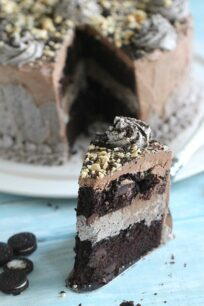 Oreo Nutella Cake