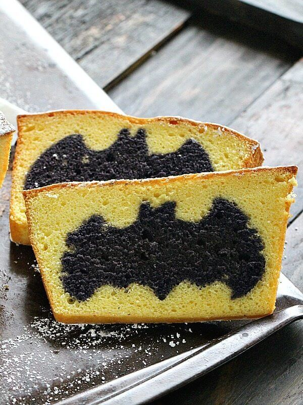 Surprise Batman Cake