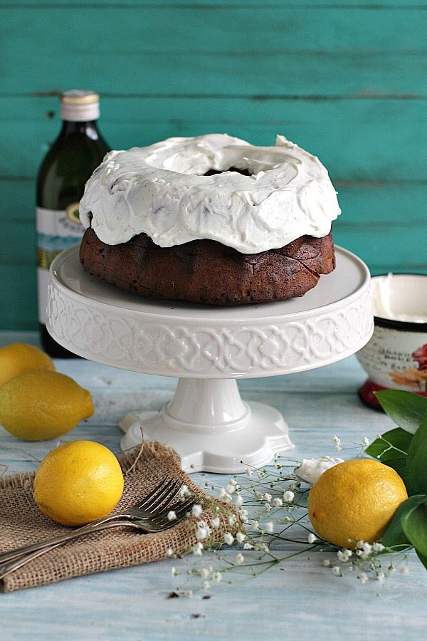 Avocado Ricotta Olive Oil Cake