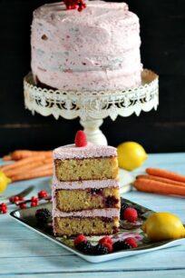 Berry Carrot Cake
