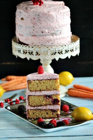 Berry Carrot Cake