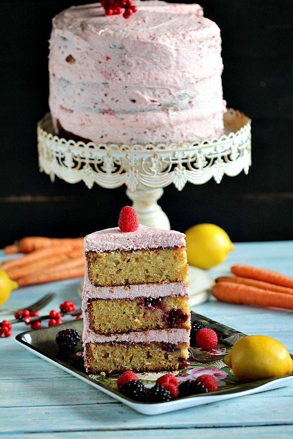 Berry Carrot Cake 600
