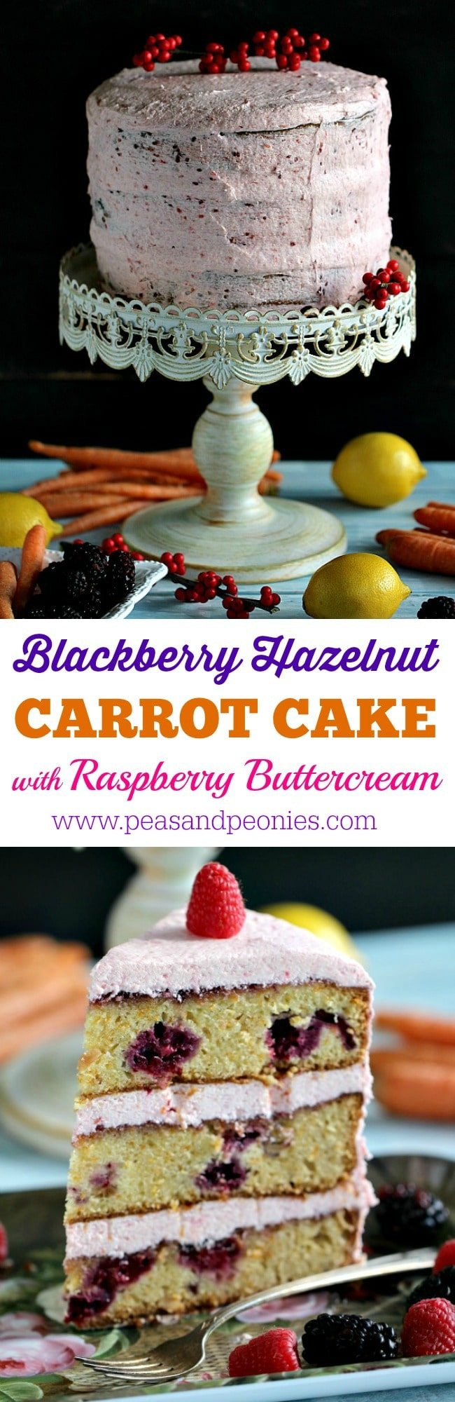 Berry Carrot Cake PIN