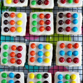 M&M's Twister Cookies