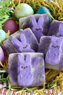 Easy Bunny Peeps Sugar Cookies