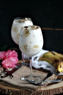 Butterscotch Banana Trifle