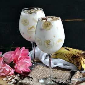 Butterscotch Banana Trifle