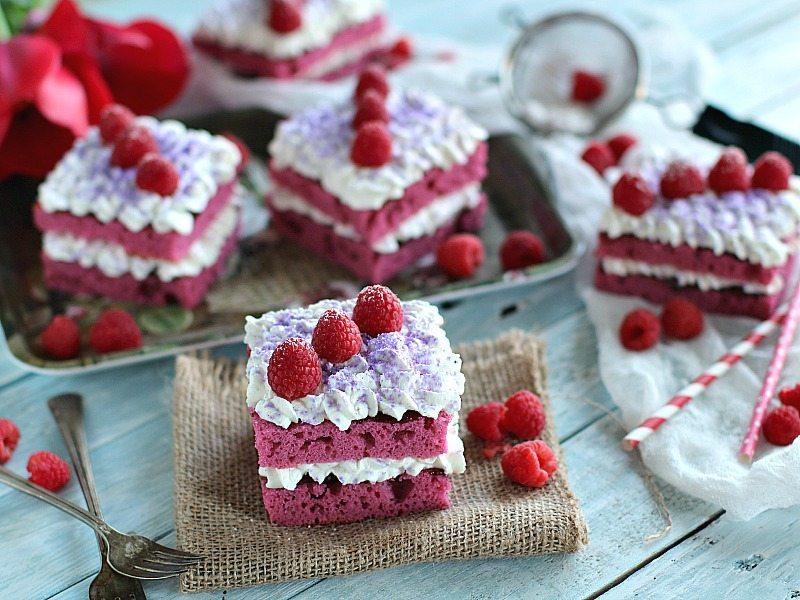 Best Raspberry Jam Cakes
