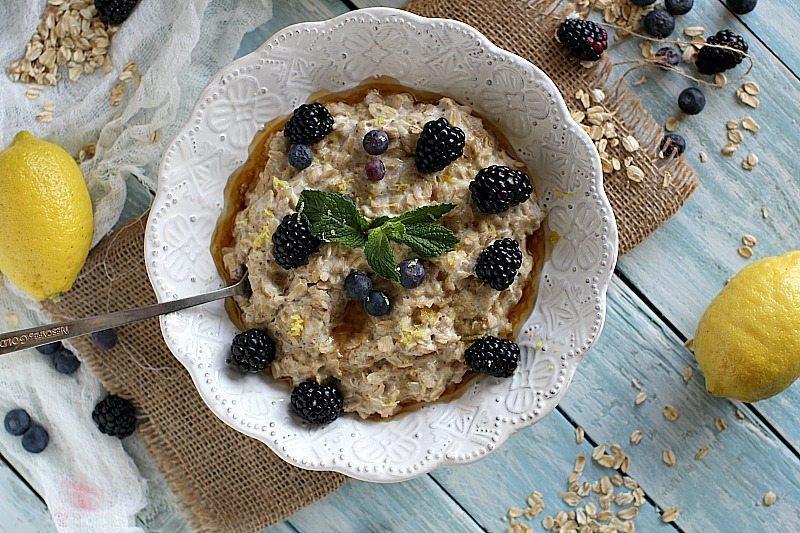 lemon blackberry cheesecake oatmeal 8006