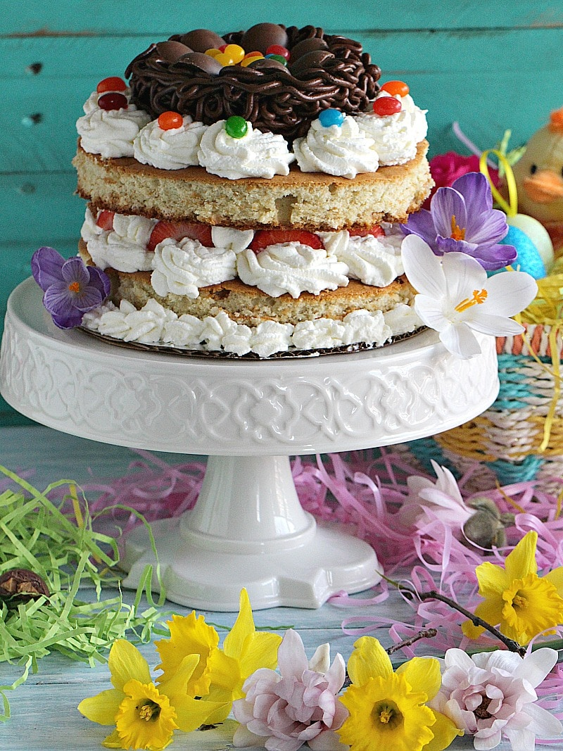 Best Easter Nest Cake
