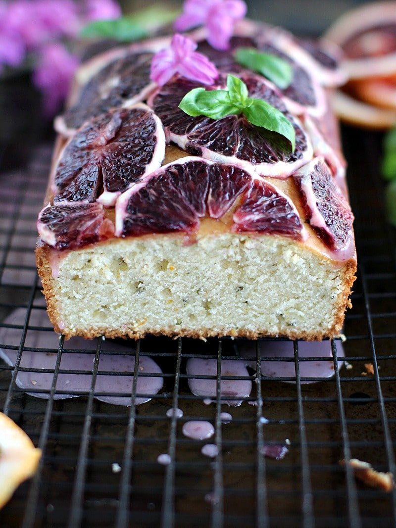 Basil Blood Orange Pound Cake 8003