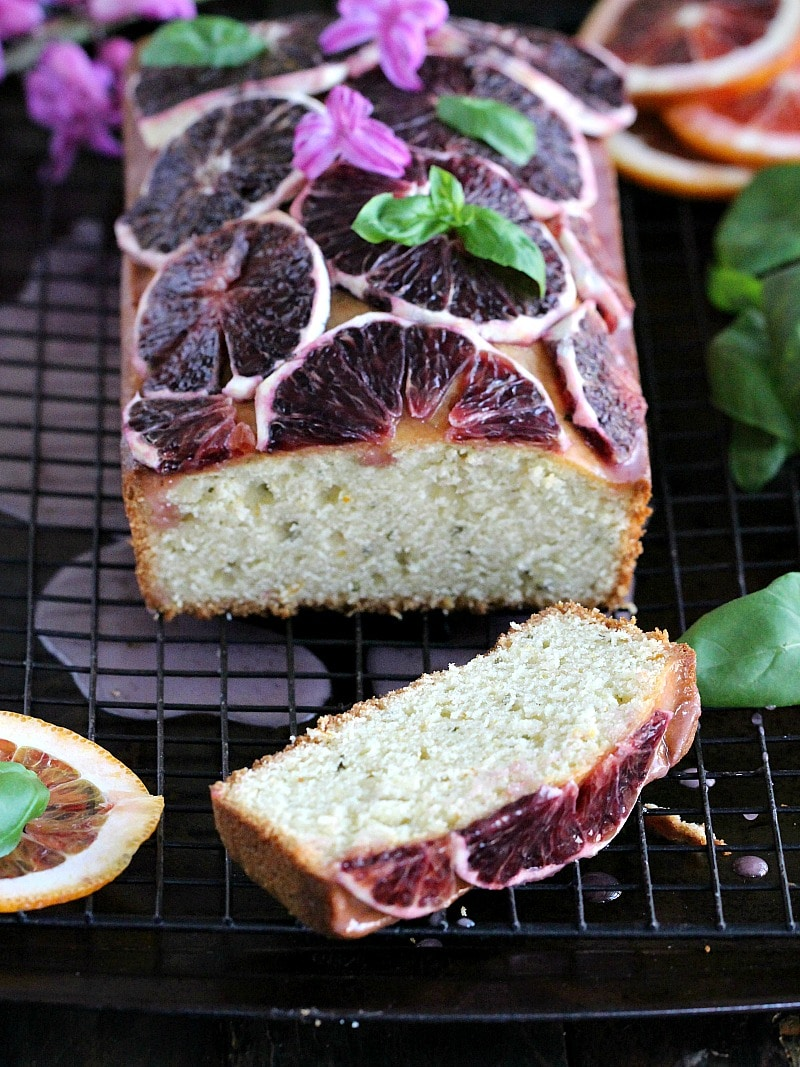 Basil Blood Orange Pound Cake 8007