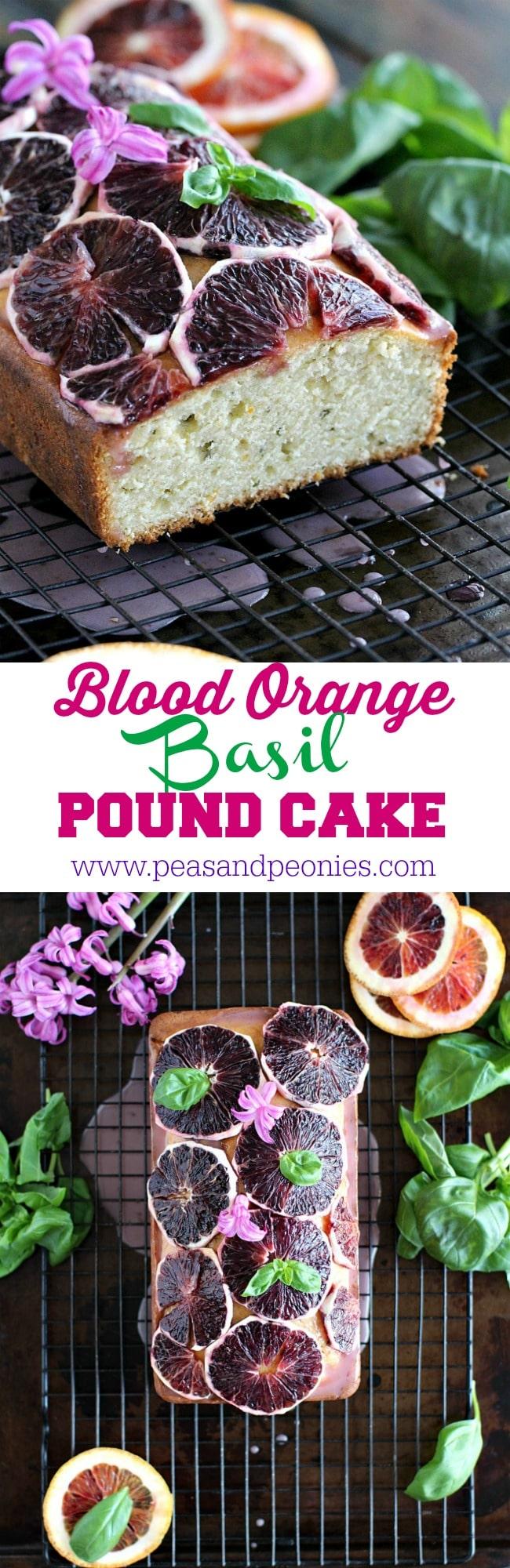 Basil Blood Orange Pound Cake PIN