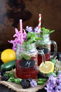 Lemon Jalapeno Blackberry Mojito 8010