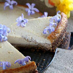 Vegan Lemon Tofu Cheesecake