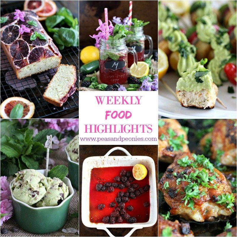 Weekly Food Highlights 4.22