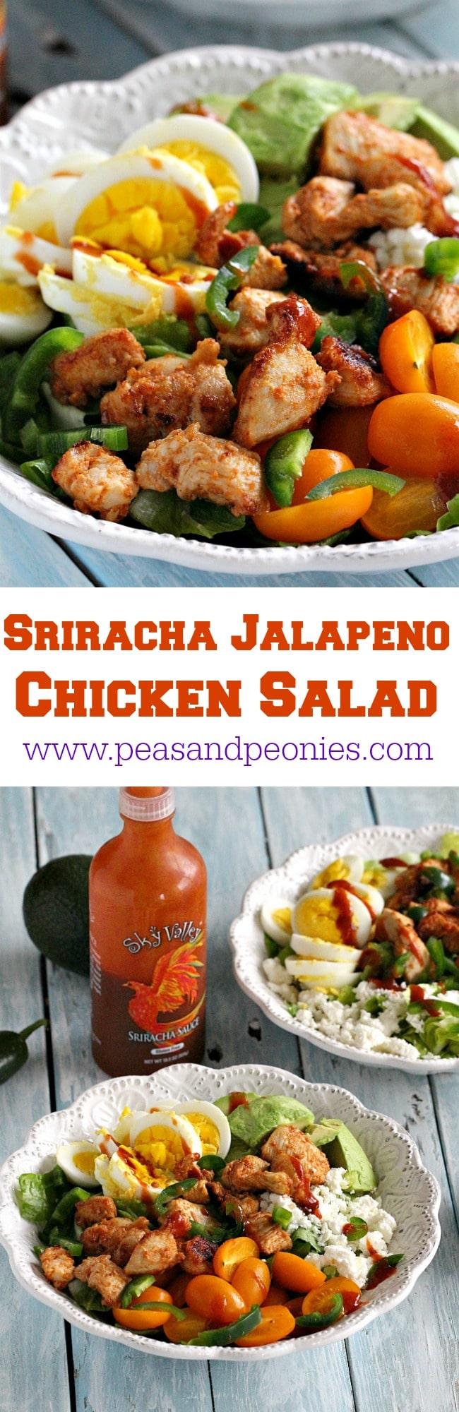 sriracha chicken salad PIN