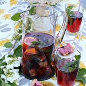 Cherry Kiwi Iced Tea