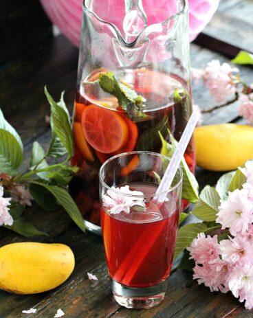 Cherry Kiwi Iced Tea
