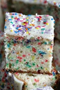 White Chocolate Funfetti Cake