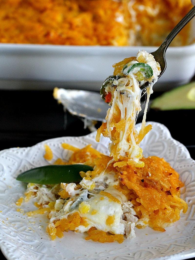 Hashbrown Chicken Jalapeño Casserole